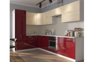 Хорошая угловая кухня Эмилия - Мебельная фабрика «Д.А.Р. Мебель»