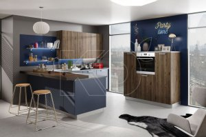 Кухня Эмма МДФ - Мебельная фабрика «Кухонный двор» г. Малаховка