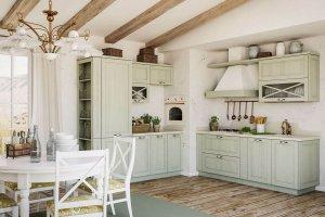 кухня Эри в стиле кантри - Мебельная фабрика «ГеосИдеал»