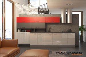 Кухня EXPRESS BRILLO прямая - Мебельная фабрика «KUCHENBERG»