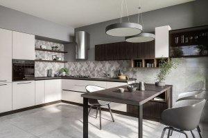 Кухня Эйва Жемчужина - Мебельная фабрика «ГеосИдеал»
