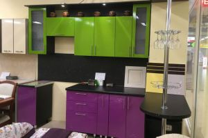 Кухня фасад МДФ пленка металлик - Мебельная фабрика «Апрель»