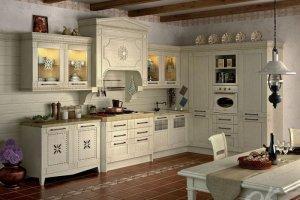 Кухня ФЛОРЕАЛЕ - Мебельная фабрика «Оранжевый Кот»