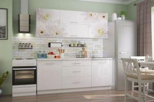 кухня Флоренс Вайт - Мебельная фабрика «Можгинский лесокомбинат»