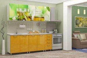 Кухня Галина с фотопечатными фасадами - Мебельная фабрика «Д.А.Р. Мебель»
