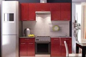 Кухня Гамма МДФ-2000 - Мебельная фабрика «Мебель СБК»