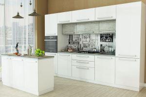 Кухня Герда с островом - Мебельная фабрика «Любимый дом (Алмаз)»