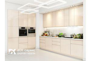 Кухня  глянцевая эмаль - Мебельная фабрика «ДОК-Сервис»