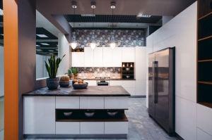 Кухня глянцевая современная - Мебельная фабрика «Смоленскмебель»
