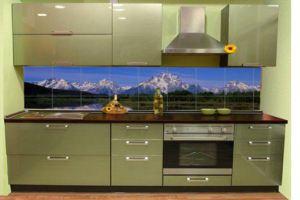 Кухня Глянец - Мебельная фабрика «ММС Мебель»