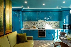 Кухня Голубая лагуна - Мебельная фабрика «Мебель Черноземья»