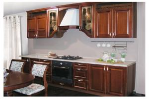 Кухня Гретта выполнена из массива ясеня - Мебельная фабрика «Формула Уюта»