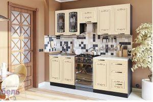 Кухня Гурман 6 прямая - Мебельная фабрика «Мебель-маркет»