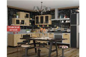 КУХНЯ HI-TECH Бэшфорт - Мебельная фабрика «Графская кухня»