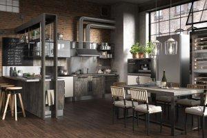 Кухня индустриальная INDUSTRIAL - Мебельная фабрика «Giulia Novars»