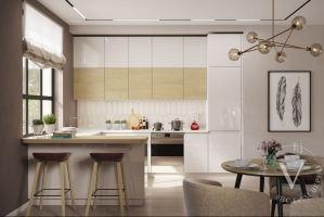 Кухня Интегра - Мебельная фабрика «ВерноКухни»