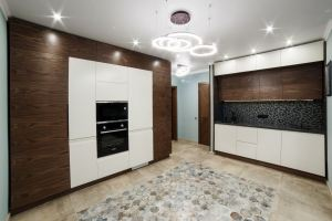 Кухня Интегра + Альба Экзотик 1 - Мебельная фабрика «ВерноКухни»