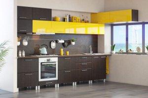 Кухня Ирина прямая - Мебельная фабрика «Эко»