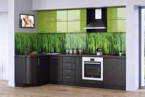Кухня Ирина венге-трава - Мебельная фабрика «Эко»