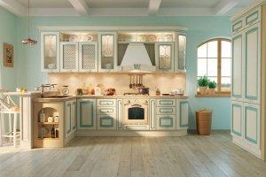 Кухня Искья в стиле прованс - Мебельная фабрика «MipoLine»