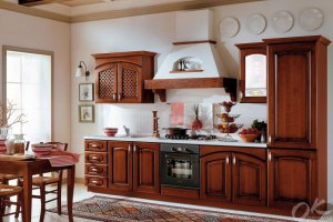 Кухня итальянская Гварнери - Мебельная фабрика «Оранжевый Кот»