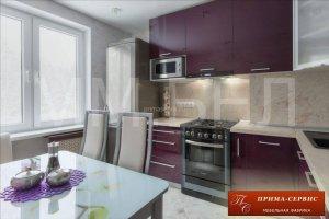 Кухня из акрила Бруннен - Мебельная фабрика «Прима-сервис»