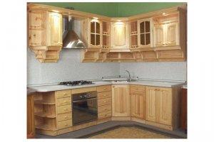 Кухня из дерева Милена - Мебельная фабрика «Pines (Пайнс)»