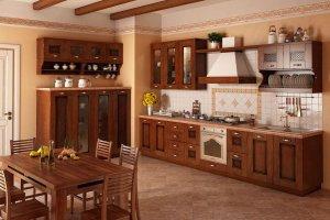 Кухня из дуба Руна - Мебельная фабрика «GeosIdeal»