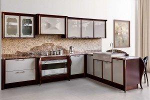 Кухня из массива бука Blues - Мебельная фабрика «Дриада»
