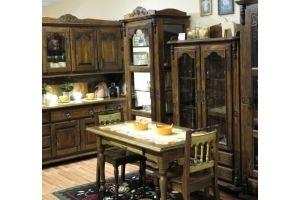 Кухня из массива дерева - Мебельная фабрика «Грин Лайн»