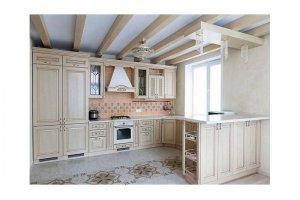 Кухня из массива дерева АЛИСЕДА - Мебельная фабрика «КухниДар»