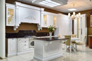 Кухня из массива дерева Беатриче - Мебельная фабрика «Ульяновскмебель (Эвита)», г. Ульяновск