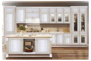 Кухня из массива Дионис - Мебельная фабрика «Волжская мебель»