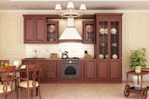 Кухня из массива Элина 1 - Мебельная фабрика «Элана»