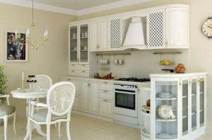 Кухня из массива Шервуд 4 - Мебельная фабрика «Элана»
