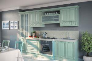 Кухня из массива Шервуд 9 - Мебельная фабрика «Элана»