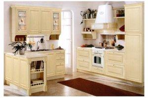 Кухня из массива угловая Афина - Мебельная фабрика «Волжская мебель»