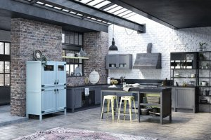 Кухня из массива ясеня ЛОФТ Легно - Мебельная фабрика «Zuchel Kuche»