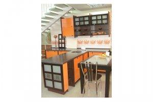 Кухня из МДФ Китаец - Мебельная фабрика «Леспром»