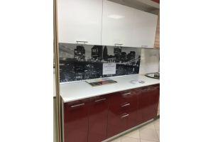 Кухня из пластика 1,8м - Мебельная фабрика «Анталь»