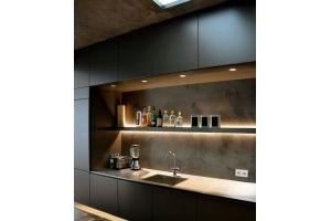 Кухня из пластика 10 - Мебельная фабрика «КухниСтрой+»