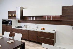 Кухня из шпона NIKA - Мебельная фабрика «Giulia Novars»