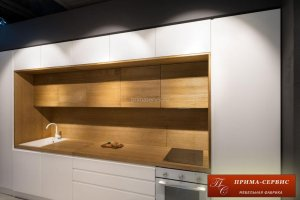Кухня из шпона ясеня Норд - Мебельная фабрика «Прима-сервис»