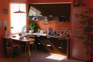 Кухня Камилла шоколадный глянец - Мебельная фабрика «Астарта»