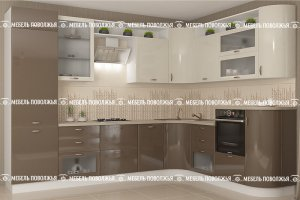 Кухня Карамель - Мебельная фабрика «Мебель Поволжья»
