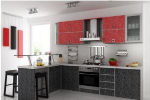 Кухня Кармен Пластик 3 - Мебельная фабрика «Элана»