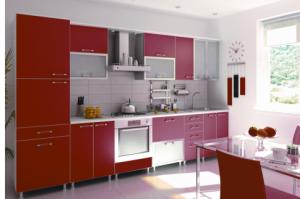 Кухня Кармен Пластик 4 - Мебельная фабрика «Элана»