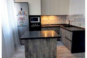Кухня Кайлас с островом - Мебельная фабрика «Дэрия»