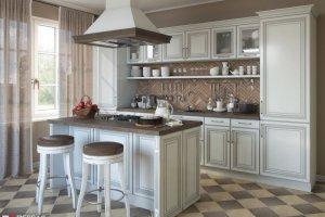 Кухня классическая Аллегро с островом - Мебельная фабрика «Первая мебельная фабрика»