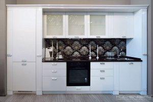 Кухня классическая белая BACCARAT - Мебельная фабрика «KUCHENBERG»